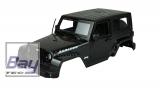 Scaler Karosserie schwarz ABS Kunststoff 1/10
