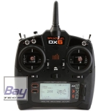 Spektrum DX6 G3 6-CH DSMX Transmitter m/AR6600T RX MD2