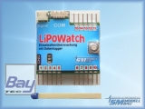 LiPoWatch mit USB-Interface Kabel - Datenlogger