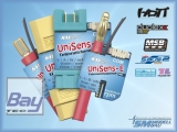 UniSens-E / XT60 Telemetrie Mehrfachsensor - Spannung / Strom / Leistung / Kapazität / Energie / Brushless Drehzahl / Höhe / Vario