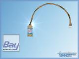 SM Spektrum-Adapter - Adapterkabel für den Anschluss von UniSens-E, UniLog 2 und GPS-Logger 1/2 an die Spektrum Telemetrie. Übersetzt die Daten der Sensoren in das Spektrum X-Bus Format.