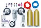 Boomerang Nano Trike Einziehfahrwerk Set - incl. Radbremsen