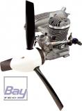 Evolution Trainer-Power-System: 7,5ccm Motor m. Schalldämpfer