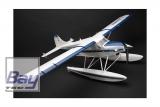 ST-Model Turbo Beaver EP ARTF 1520mm V2 Blau mit Beleuchtung / incl. Schwimmer und normalem Fahrwerk