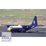 MAXFORD USA C-130 BLUE ANGELS FAT ALBERT ARF 100 4-MOTORIG MIT EINZIEHFAHRWERK