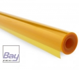 Bay-Tec Bügel-Folie - Transparent-Orange - Breite 64cm - je m