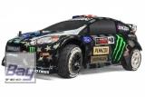 WR8 Flux RTR Ken Block GYM8 Ford Fiesta ST RX43 1:8 4WD Brushless Elektro Rally Car - 100 km/h Vmax