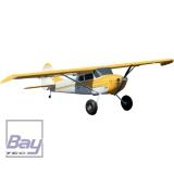 PREMIER AIRCRAFT CESSNA 170 SUPER GELB/WEISS PNP 2204mm MIT AURA 8 UND POSITIONSBELEUCHTUNG