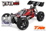 Team Magic Buggy B8ER Rot/Schwarz - 1/8 Elektrisch - 4WD Buggy - RTR - 2500kv Brushless Motor - 4S - Wasserdicht