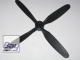 Yuki Nicesky Ersatzluftschraube 4-Blatt Vierblatt 6 x 7 (Ø15cm) warbird P-51 / P-47
