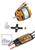Brushless Kit - MPBL 4250-07 710KV 198g Aussenläufer incl. 60A Regler
