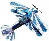 Pitts S2B Kunstflugmodell 80cm Lasercut Balsaworx Holzbausatz