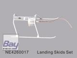 NE4260041 Landegestell (weiß) f. Nine Eagle Solo Pro 1 & Solo Pr