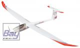 Multiplex Lentus 3m RR - das leistungsfähigste ELAPOR Segelflugmodell aller Zeiten - incl. Motor, Regler, Servos