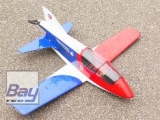 Balsaworx BD-5A 1/6 SemiScale Kleinflugzeug Spw. 88cm, CNC Lasercut Holzbausatz