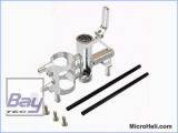 ALU CNC Chassis, Silber, Blade MSR