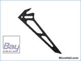 CFK-Seitenleitwerk für MH-MSR025, Blade MSR
