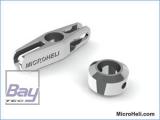 CNC Mitnehmer, silber, Blade MSR