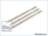 ALU-Hauptrotorwelle (3 Stück), Blade MSR