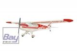 Piper PA-18 EP-Por 1210mm ARF Weis-Rot