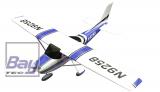 Air Trainer 1410mm brushless blau - incl. Motor, Regler und Servos