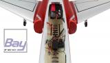 AMXFlight Super Scorpion 6-8S rot/weiß PNP - 1260mm