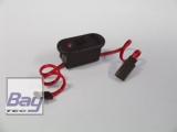 Schalterkabel m. eingebauter Ladebuchse + Spannungskontrolle