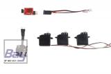Start-Set Micro Indoor Motor / Regler / Servos / Akku