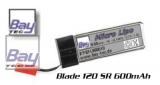 LiPo Akku 3,7V 600mAh 25C 15g Blade 120 SR und mQX