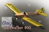 Spacewalker 400 100cm Lasercut Balsaworx Holzbausatz