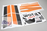 Decorsatz - WOT4 Foam-E ORANGE