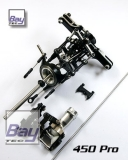 Bay-Tec 450 Pro Alu Rotorkopf incl. Alu Heck