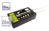 Bay-Tec GR7FA 7 Kanal FASST Komp. 2,4 GHz Empfänger mit integriertem A3X Flugstabilisierungssystem