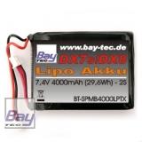 Bay-Tec Spektrum 4000mAh LiPo Senderakku DX9 / DX8 / DX7 /DX7S / DX6