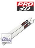 PRO 3D CFK Hauptrotorblattsatz E500er Klasse 430mm Gelb