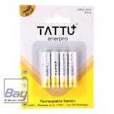 Tattu Enerpro AAA-Micro Akkus 800 mAh - 4er Blister
