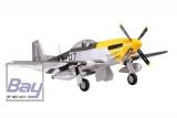 FMS Giant Scale P-51 Mustang 1700mm Ferocious Frankie gelb PNP