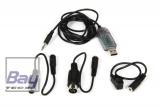 USB Simulatorkabel mit Adaptern