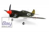 FMS Mini P-40 Warhawk grün, PNP, ohne Akku/RC