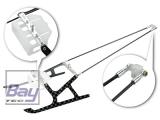 BLADE MCPX Aluminum/Carbon Fiber Landing Gear w/ Support