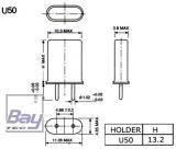 Empfänger Quarz Standard Größe U-50 35MHz-A / 40 MHz