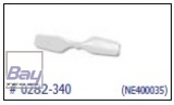 Solo Pro 125 3D Tail blade white