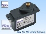 Bay-Tec XL-09HM Servo 10g 2,2kg 12mm 0,12sec Metall Getriebe