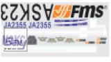 FMS ASK23 Dekorsatz