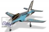 FMS Futura V2 Jet EDF 80 PNP - 106 cm - Blau - Combo incl. Reflex Gyro System