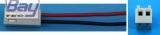 Senderakku - Anschlusskabel Futaba, flach
