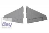 FMS F-35 Jet Haupttragflächensatz grau
