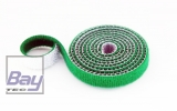 15mm Klettb / Velcro beidseitig verbindend 1m GRÜN