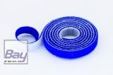 15mm Klettb / Velcro beidseitig verbindend 1m BLAU
