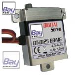 Bay-Tec BT-D125BB/MG Digital Flächen Servo 7,0kg 0,15sec. voll Alu Gehäuse